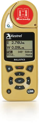 Hornady Kestrel 5700 Ballistics Weather Meter with Hornady 4DOF